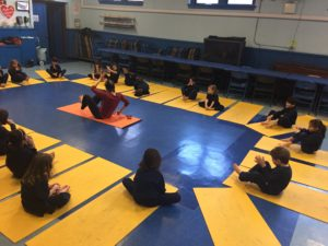 K and 1 Starting Monday with some Yoga!